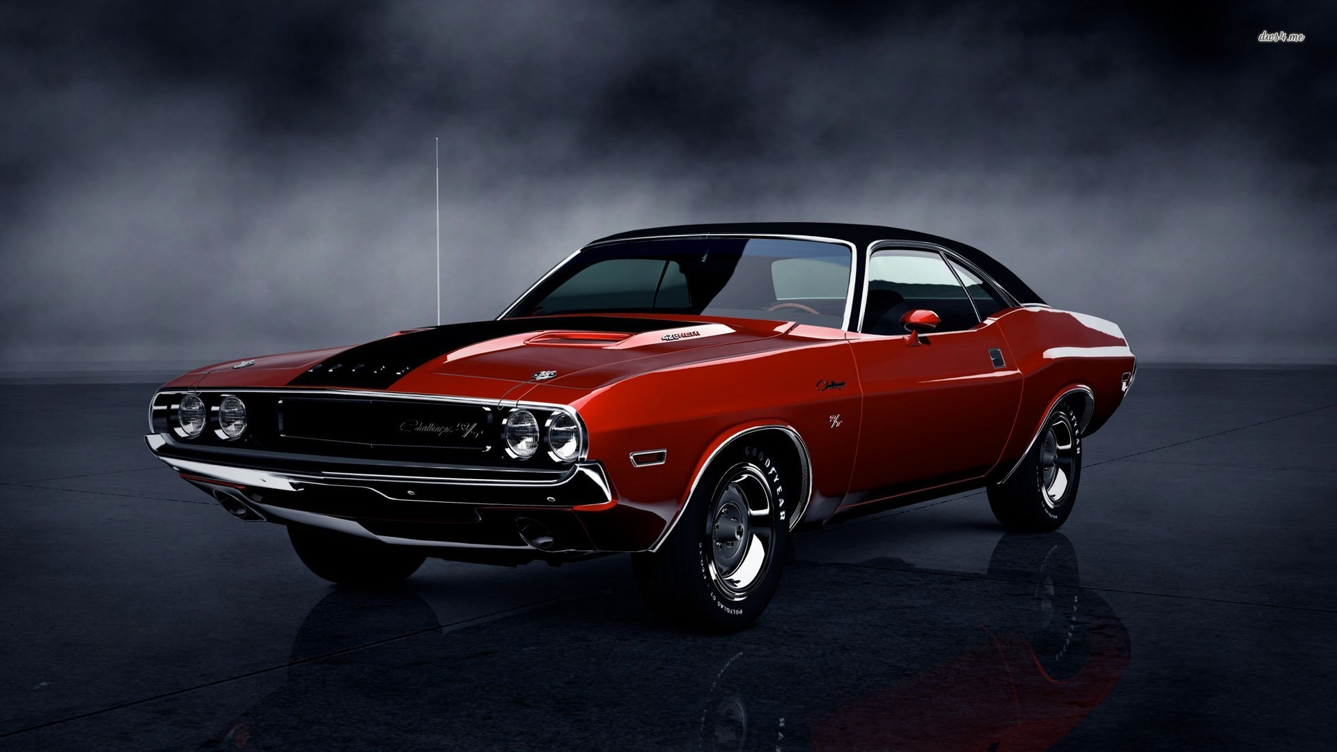 Dodge Challenger BackRelated Car Wallpapers wallpaper 1920x1080
