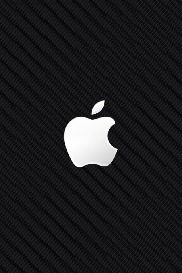 Black And White Apple iPhone Wallpapers HD iPhone Wallpaper 640x960