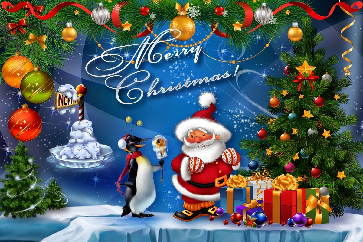 Free Download Cute Merry Christmas Background Full Hd 1080p