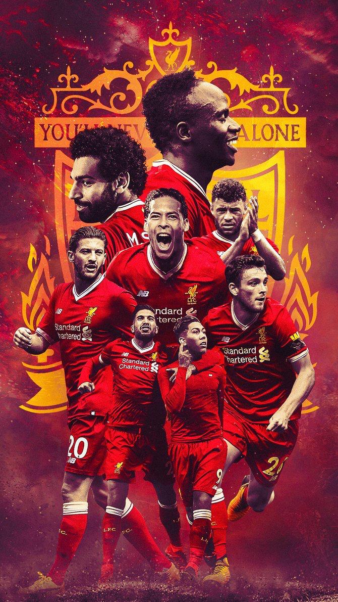 Team Spirit YNWA The kop Liverpool soccer Liverpool anfield 670x1191