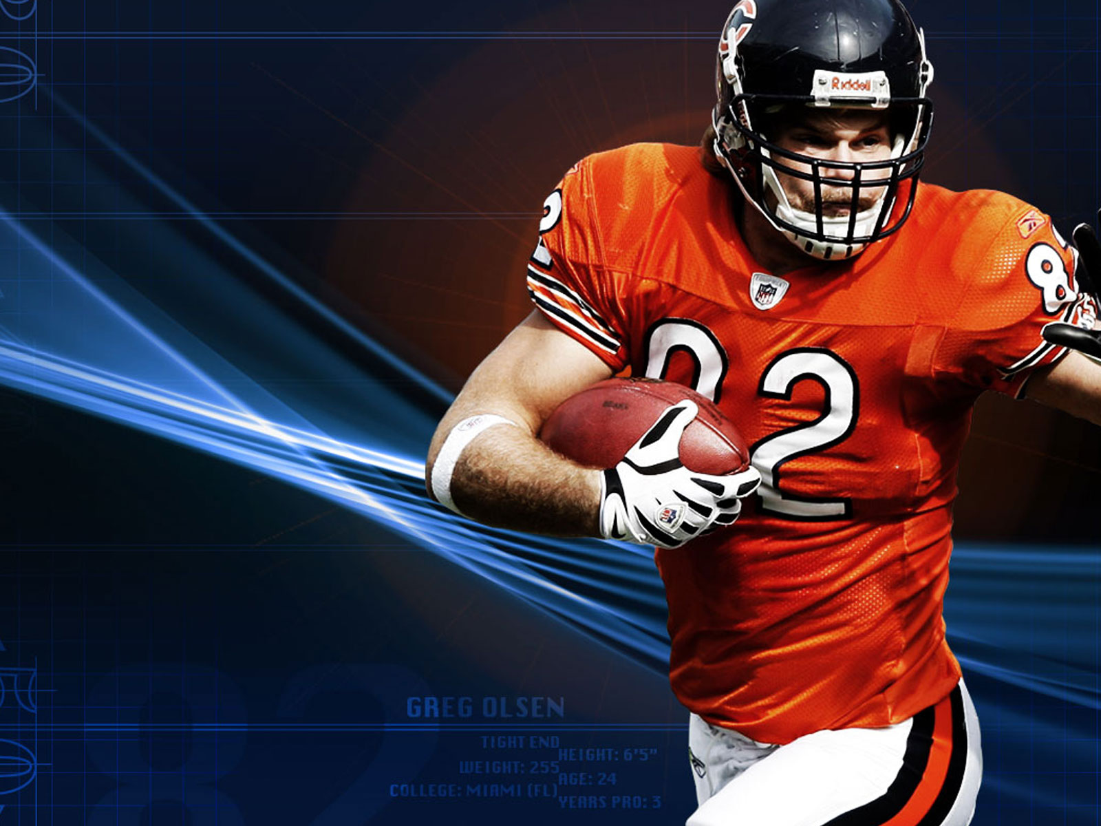 Chicago Bears wallpaper Chicago Bears wallpapers 1600x1200
