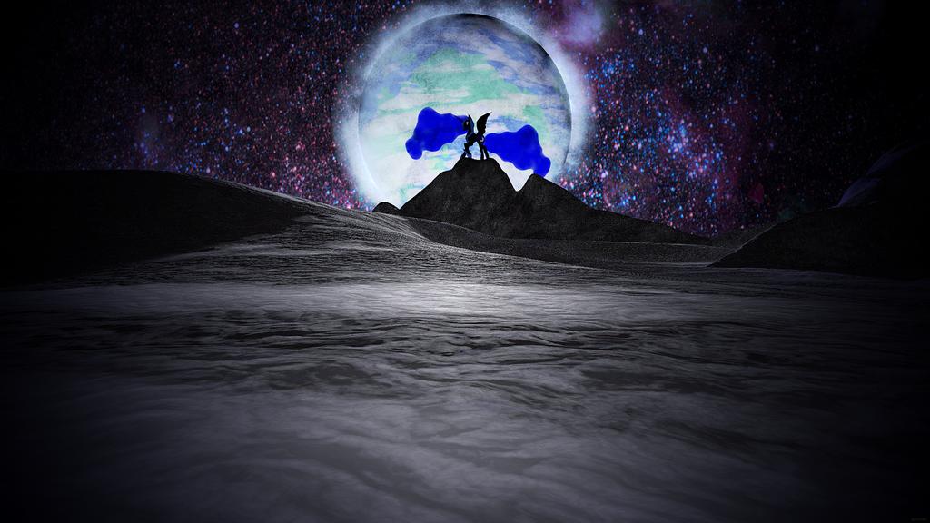 Nightmare Moon Wallpaper by AllicornUK 1024x576
