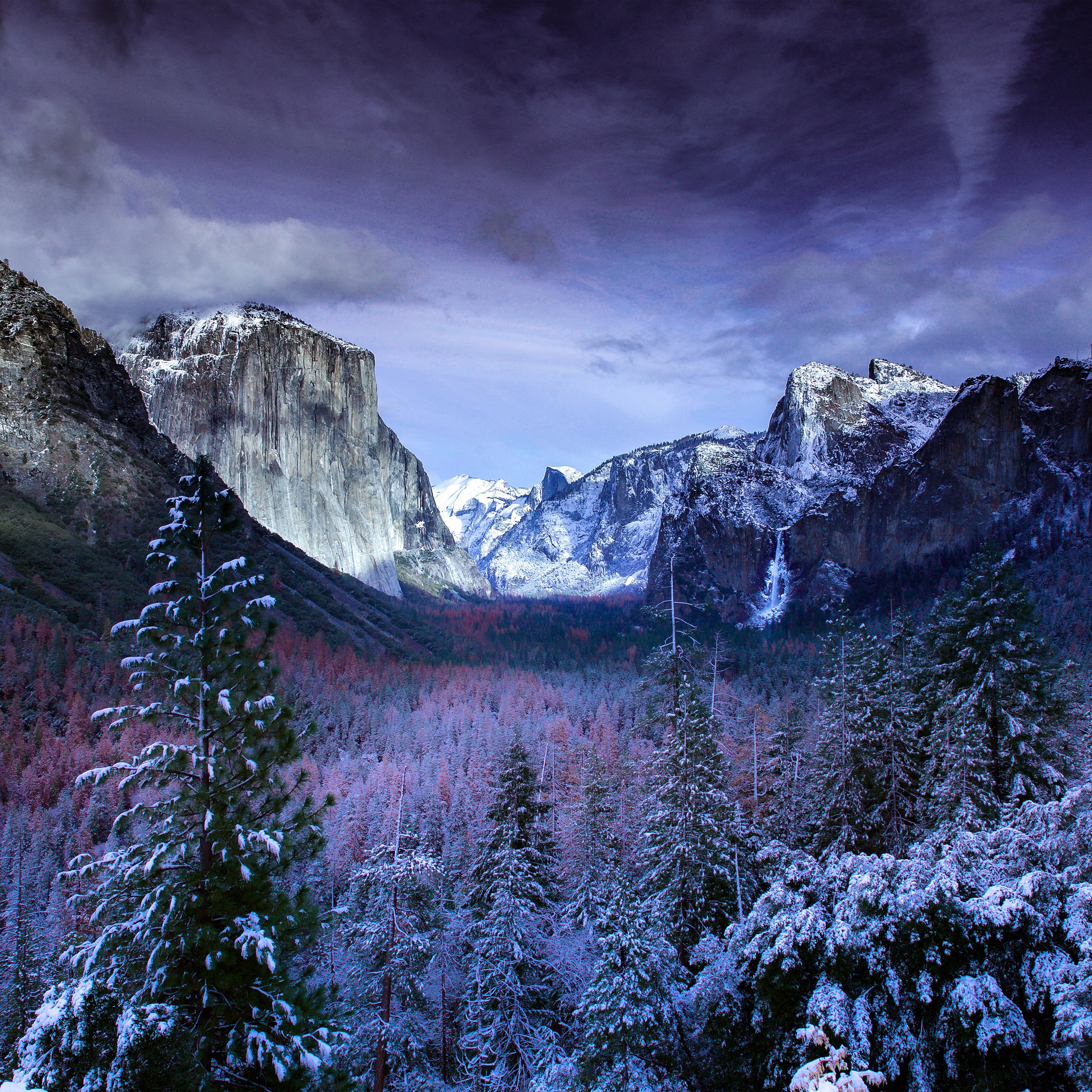 Winter wallpaper pack for iPad iPhone and desktop 2732x2732