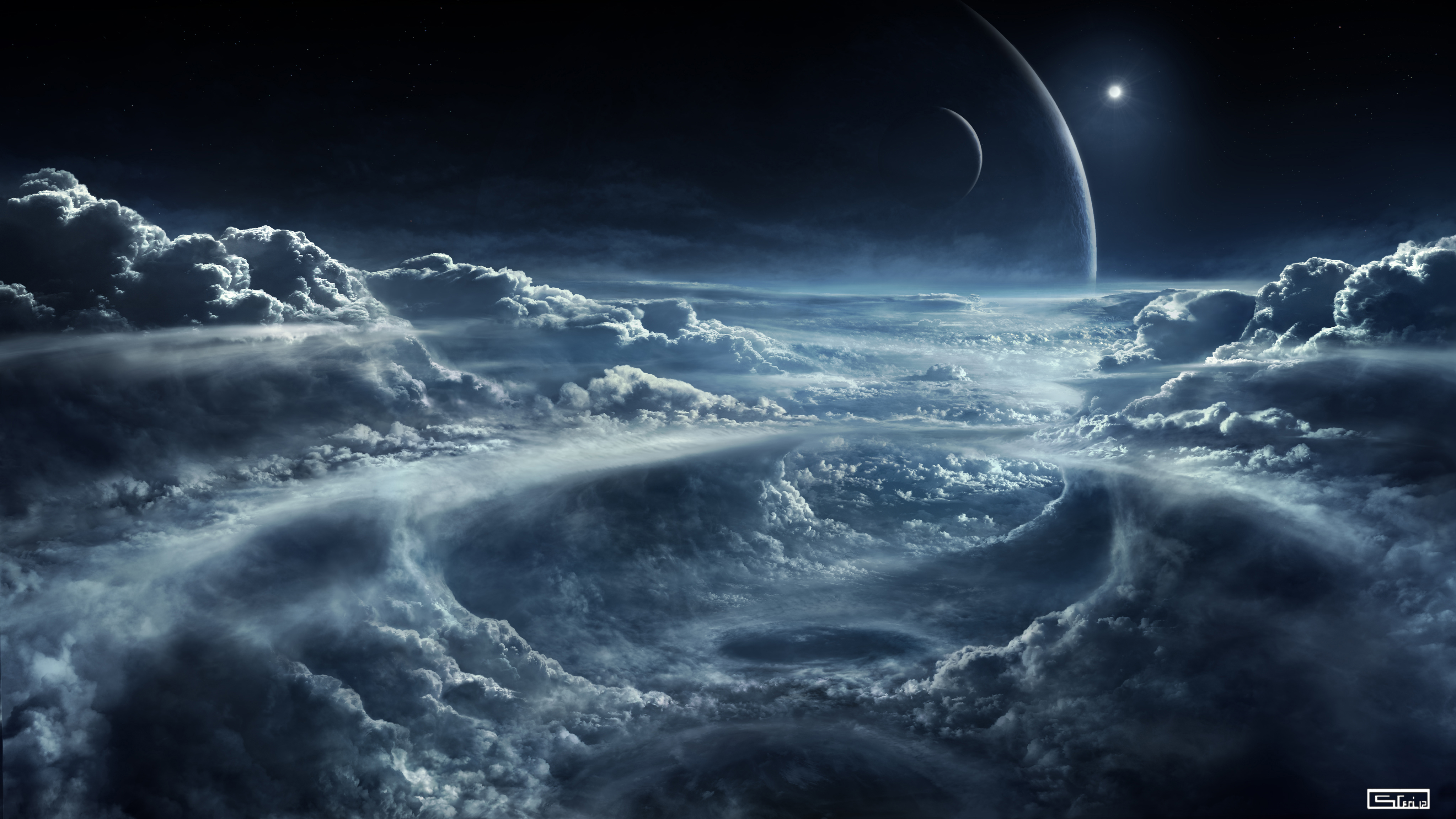 Free download 20K Space and Clouds Wallpaper 20K Wallpaper Ultra HD ...