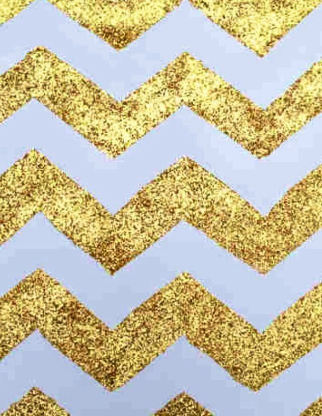 Glitter Chevron Prints Phones Wallpapers Chevron Iphone Gold 640x828