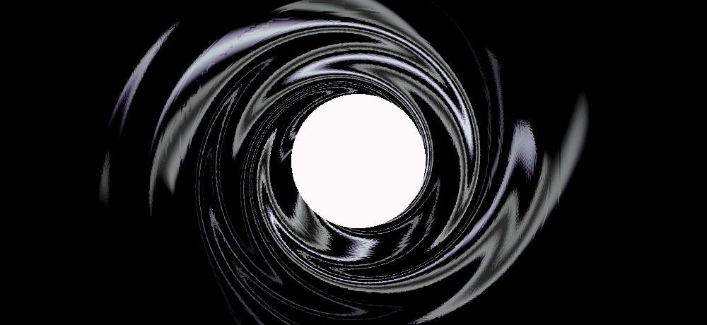 007 Gun Barrel Wallpaper James bond gunbarrel logo by 1000x460