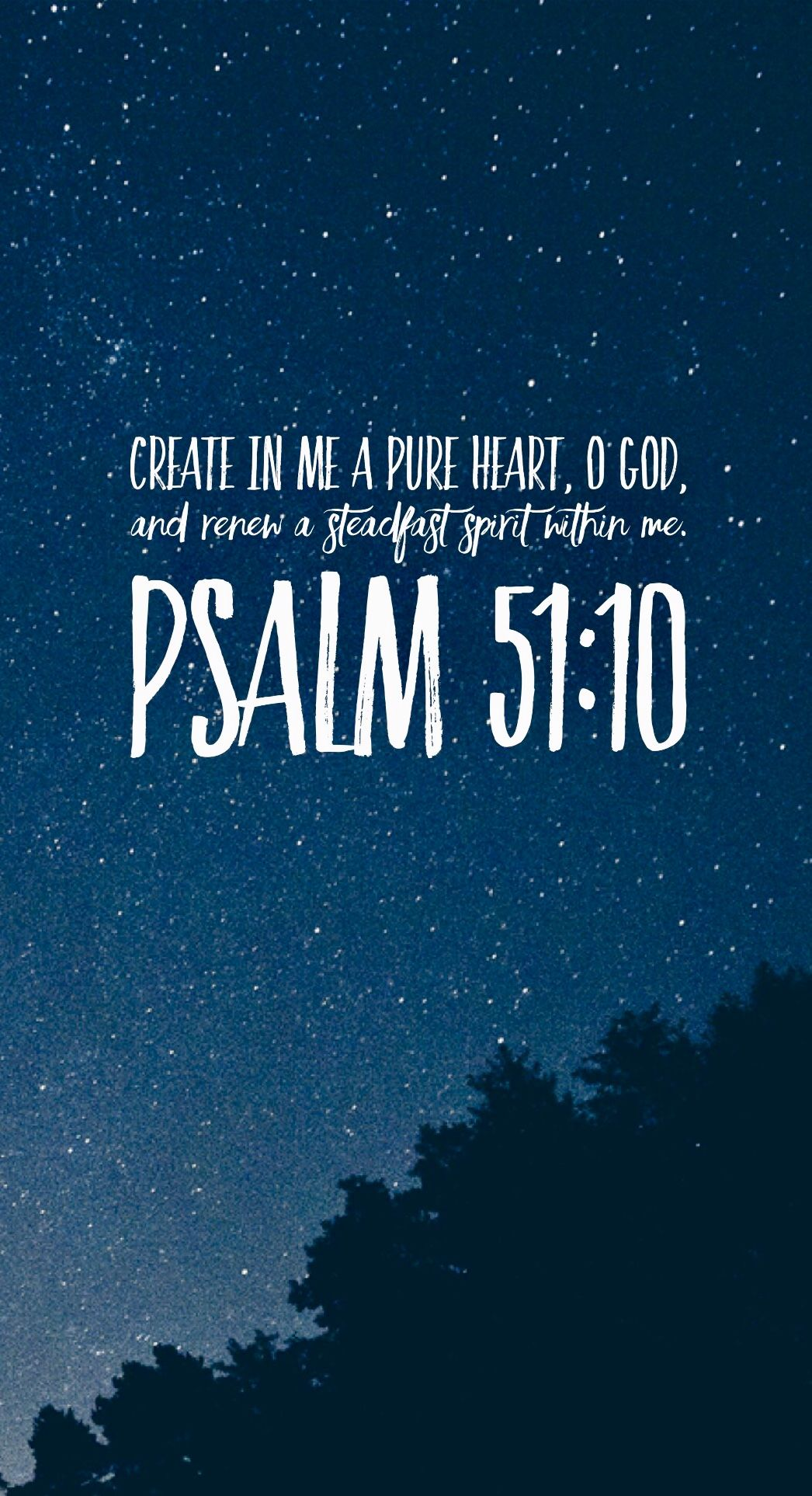 Psalm 5110 Fe Bible verse tattoos Bible verse background 1046x1926