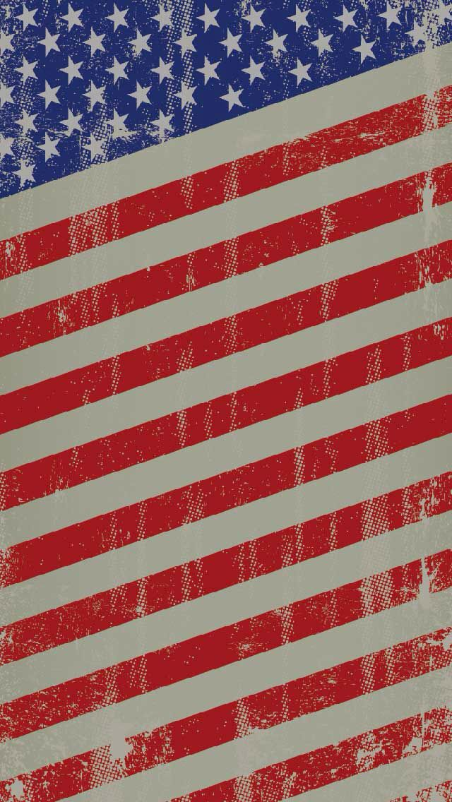 American flag Stars and Stripes 640x1136