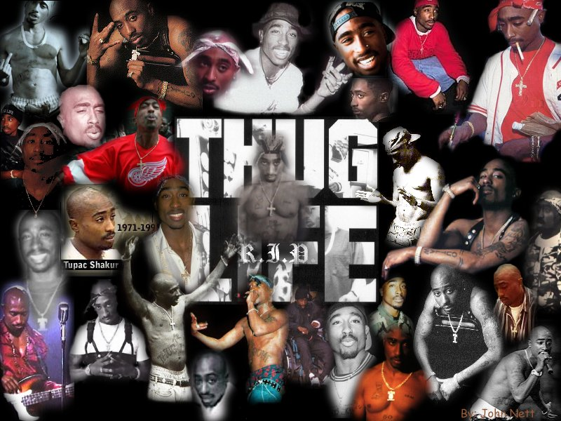 Pac Thug For Life Lyrics 800x600