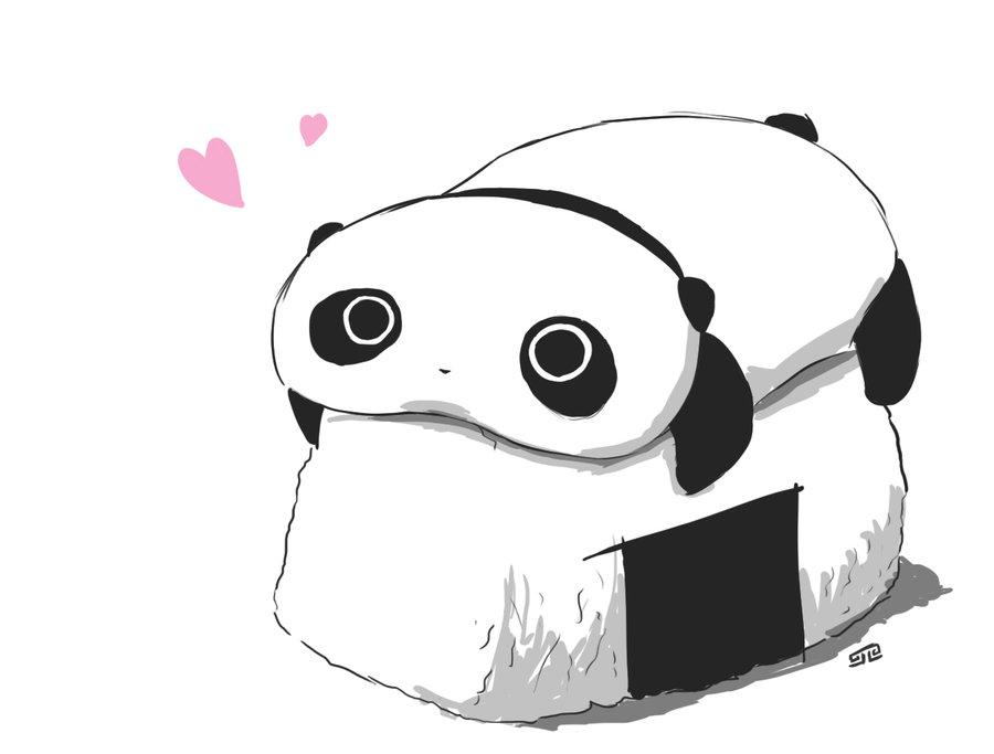 Tare Panda Riceball By Zlu5hy On DeviantArt