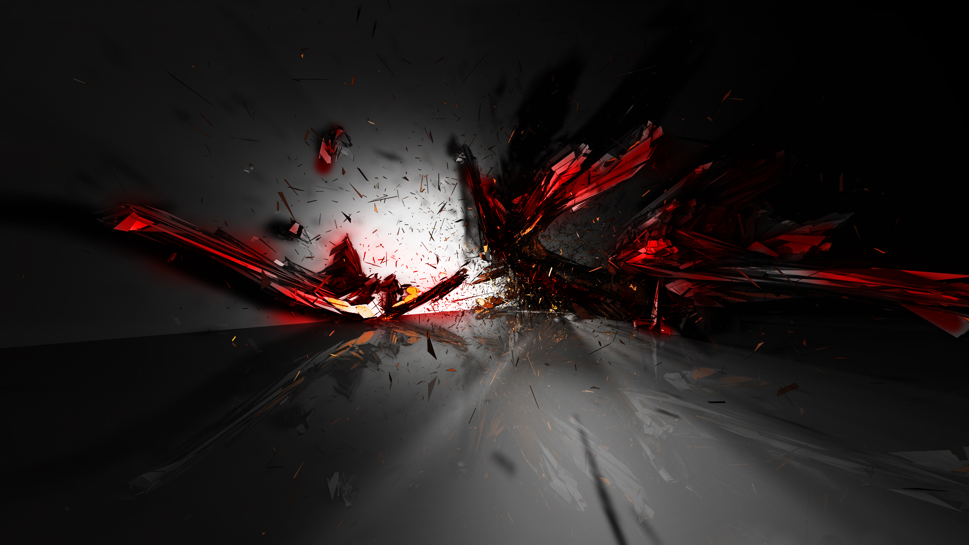 Red Abstract 3d Design Wallpaper 1586 Wallpaper WallpapersTubecom 1920x1080