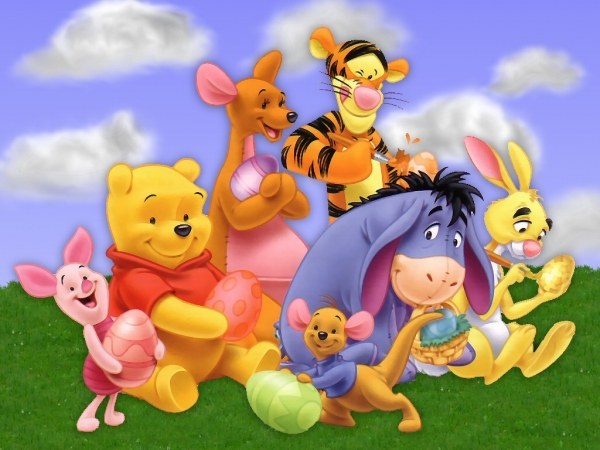 Disney Cartoons And Easter Party Funny Pictures 600x450