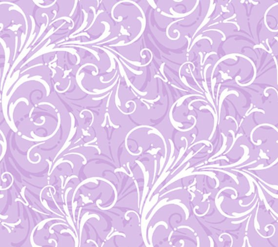 Lavender Layered Scroll Wallpaper   Wall Sticker Outlet 570x506