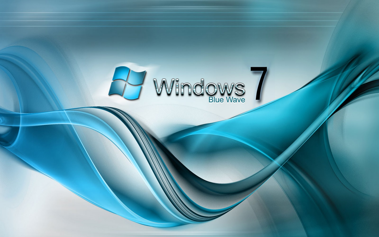 Download Windows 7 Blue Wave Wallpapers Wallpapers Area 1600x1000