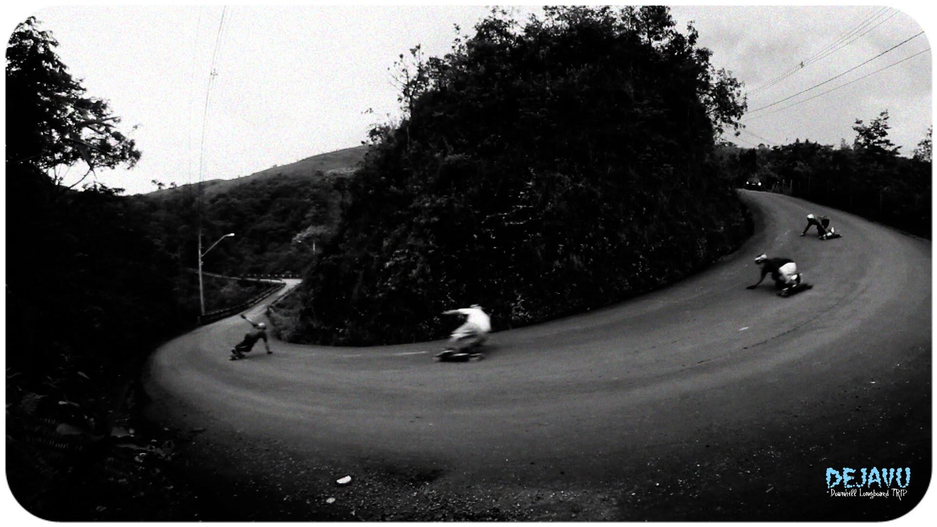 DEJAVU Downhill Longboard TRIP 1920x1080