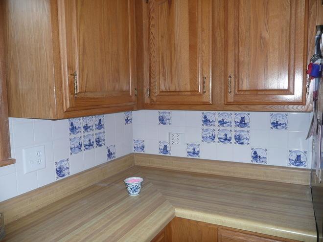 Mottles Murals Ceramic Tiles