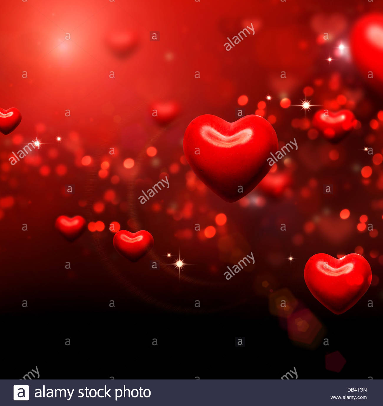 Valentine Hearts Background Valentines Red Abstract Wallpaper 1300x1378