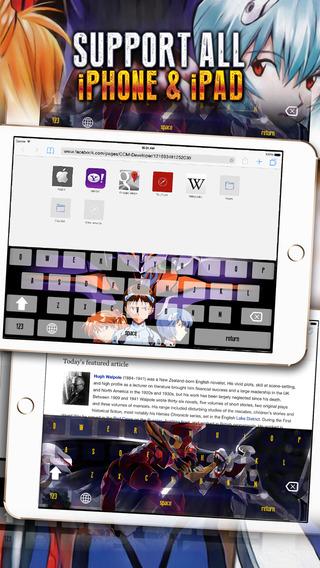 KeyCCM Manga Anime Wallpaper Keyboard Themes 320x568
