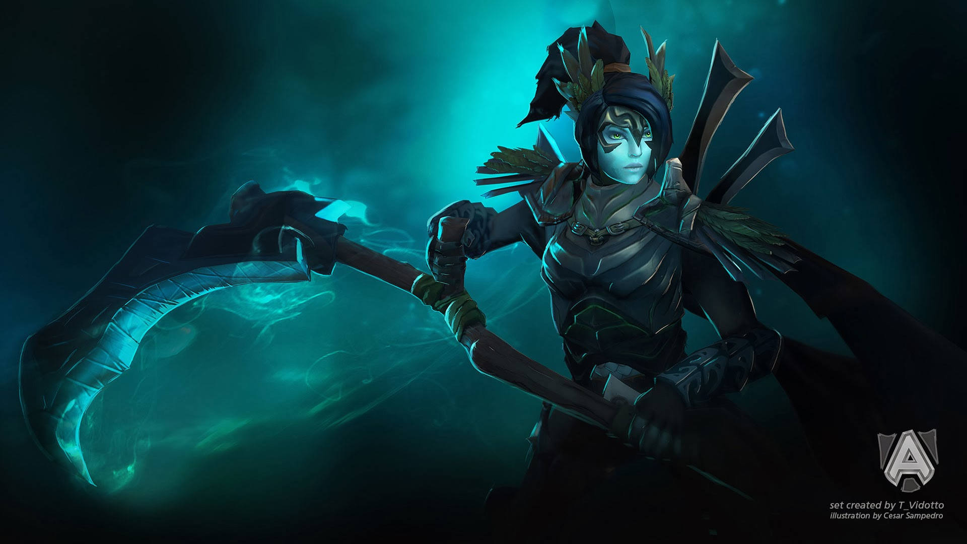 Hd wallpaper dota 2 - Uploads 2014 03 Mor Ssassin Death
