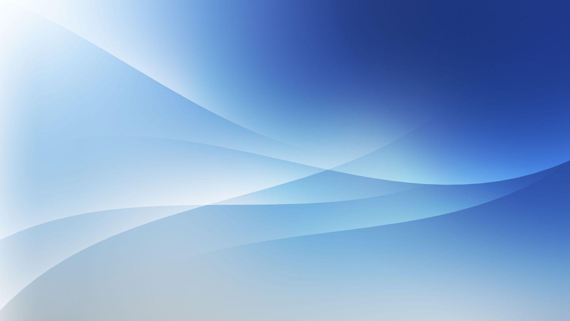 Blue and White HD Wallpaper - WallpaperSafari