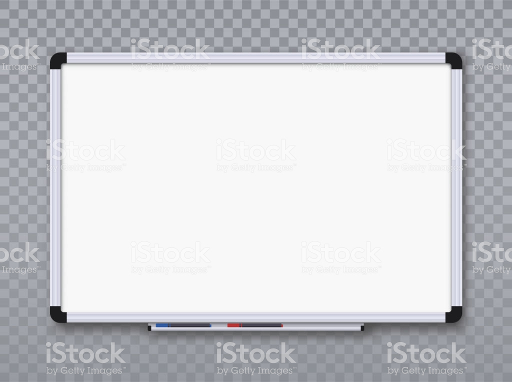 Whiteboard For Markers On Transparent Background Office Board 1024x764