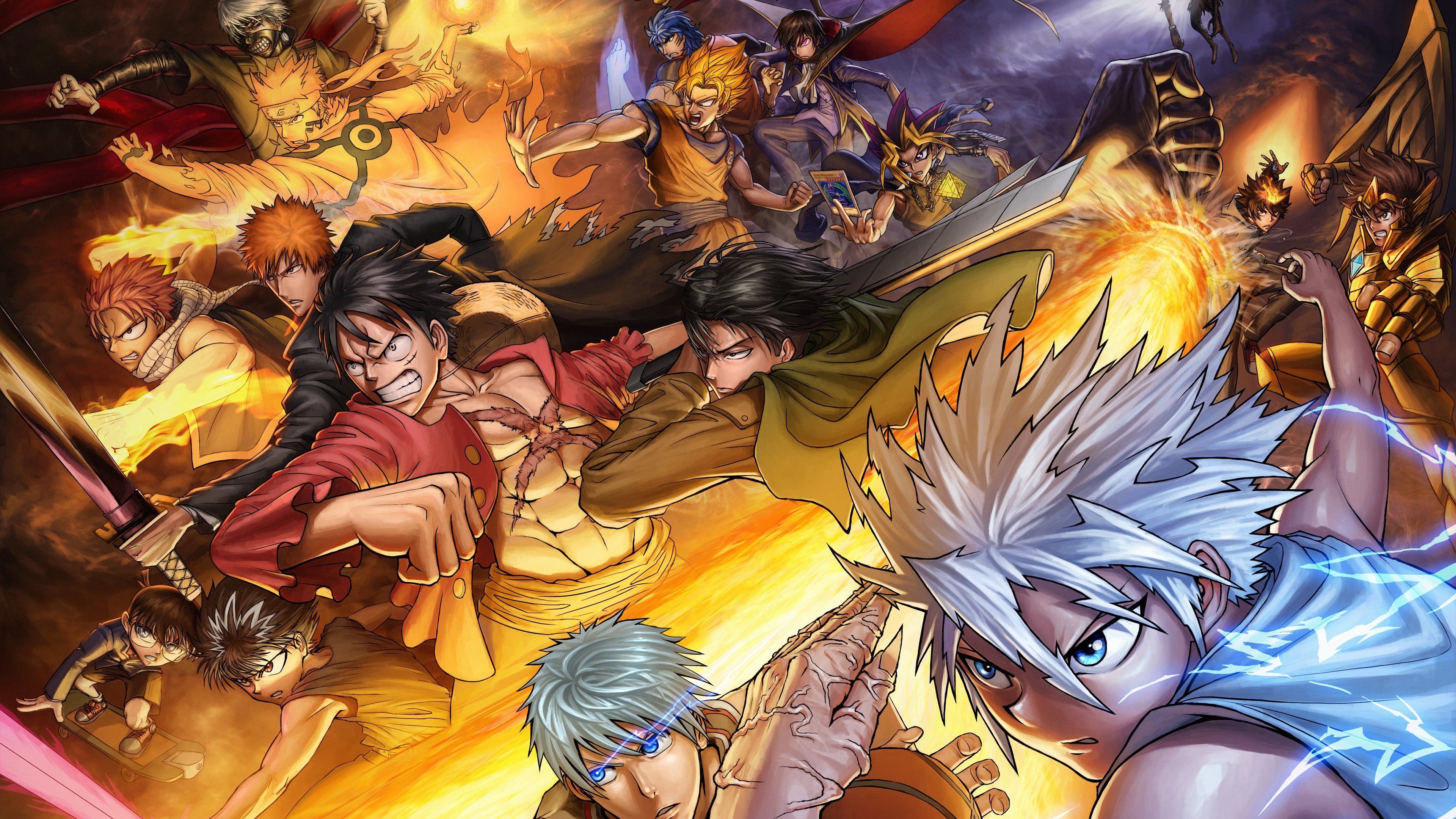 40 Animes Crossover 4k Wallpapers On Wallpapersafari