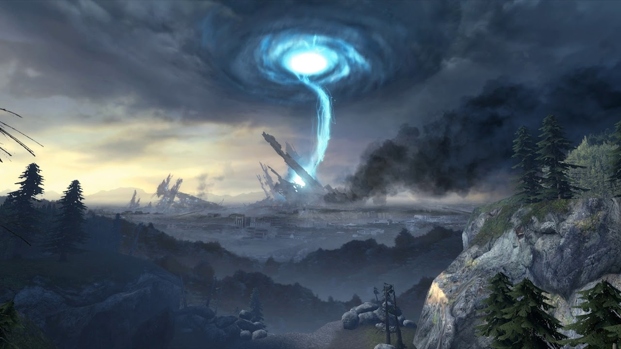Half Life 2 Citadel Portal Animated Wallpaper [Ultra wide] 1280x720