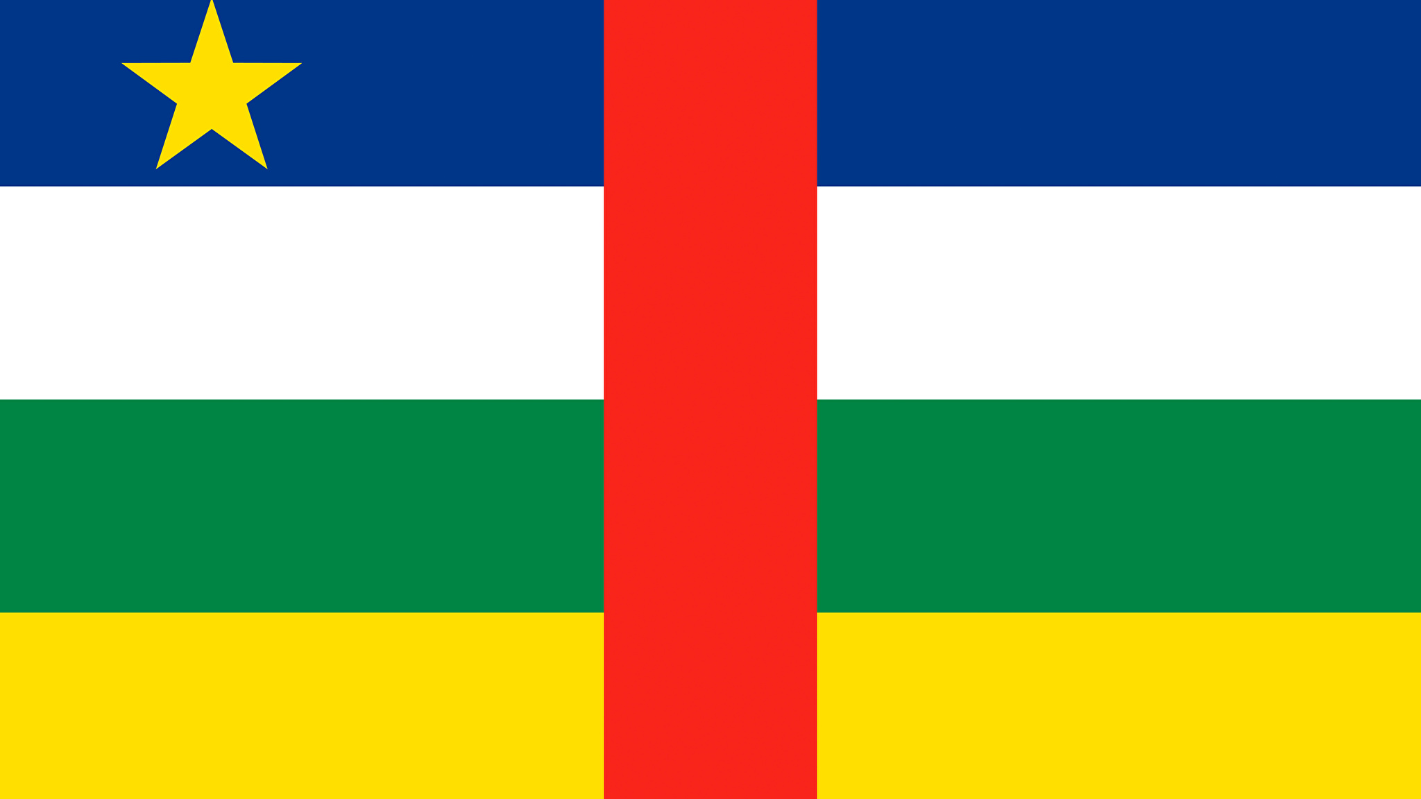 Photo Central African Republic Flag 2048x1152 2048x1152