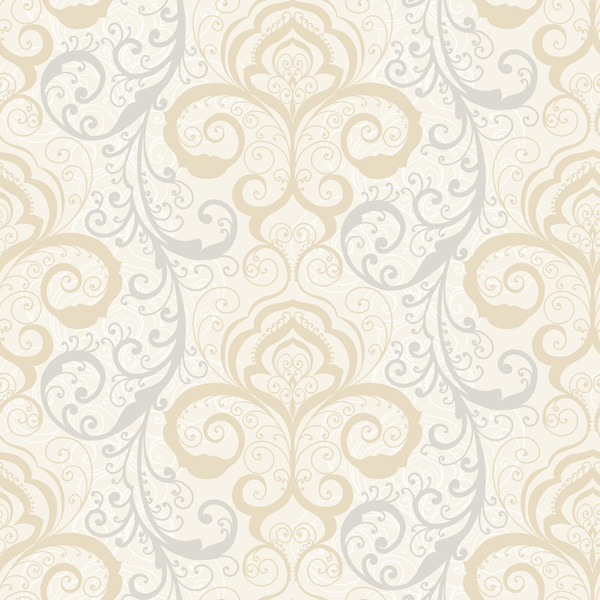 Vanessa Mauve Henna Brocade Wallpaper Swatch   Wallpaper   by Brewster 600x600