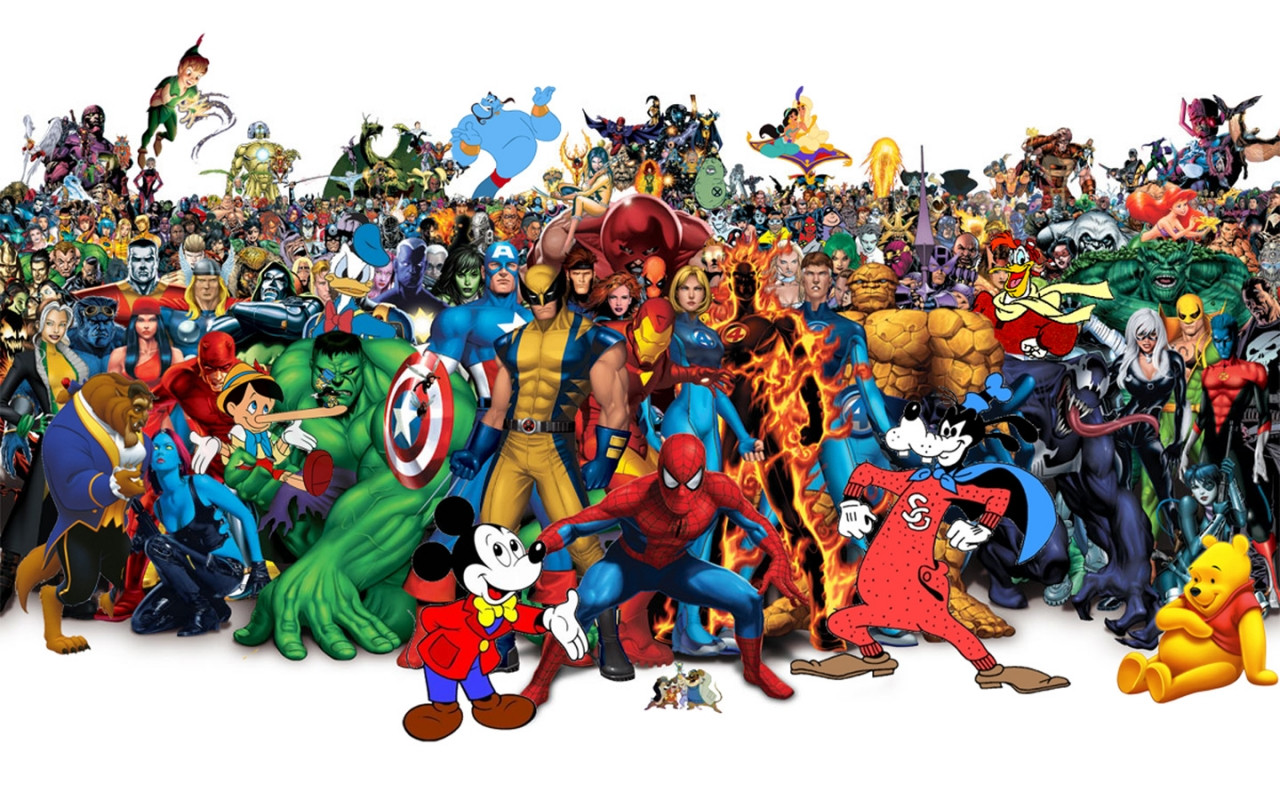Disney Character Background images 1280x800