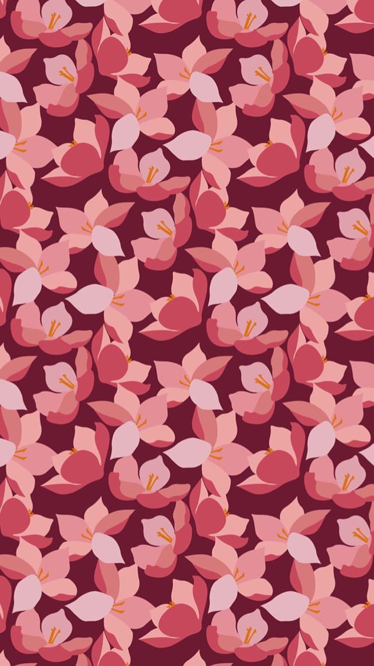 Mulan flowers Disney iPhone wallpaper iPhone Wallpapers in 2019 750x1334