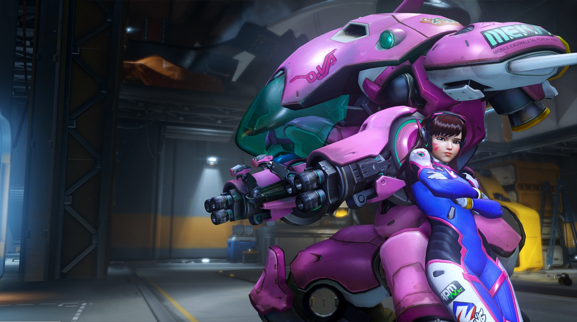 2015 Jumping into Overwatch with Mei Genji and DVa Shacknews 1920x1074