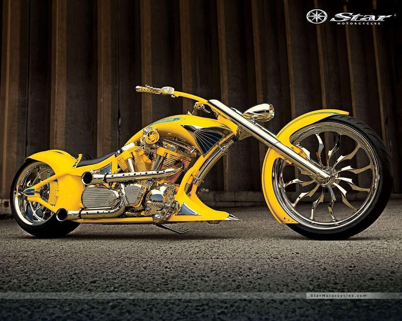 View Of Chopper Yellow Wallpaper Hd Car Wallpapers 1280x1024