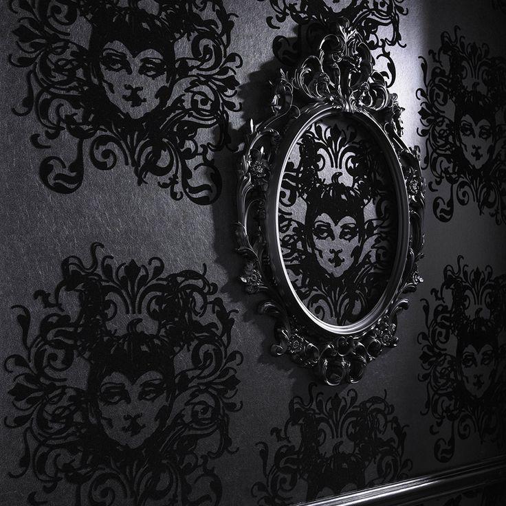 ... gothic wallpaper for home wallpapersafari ...