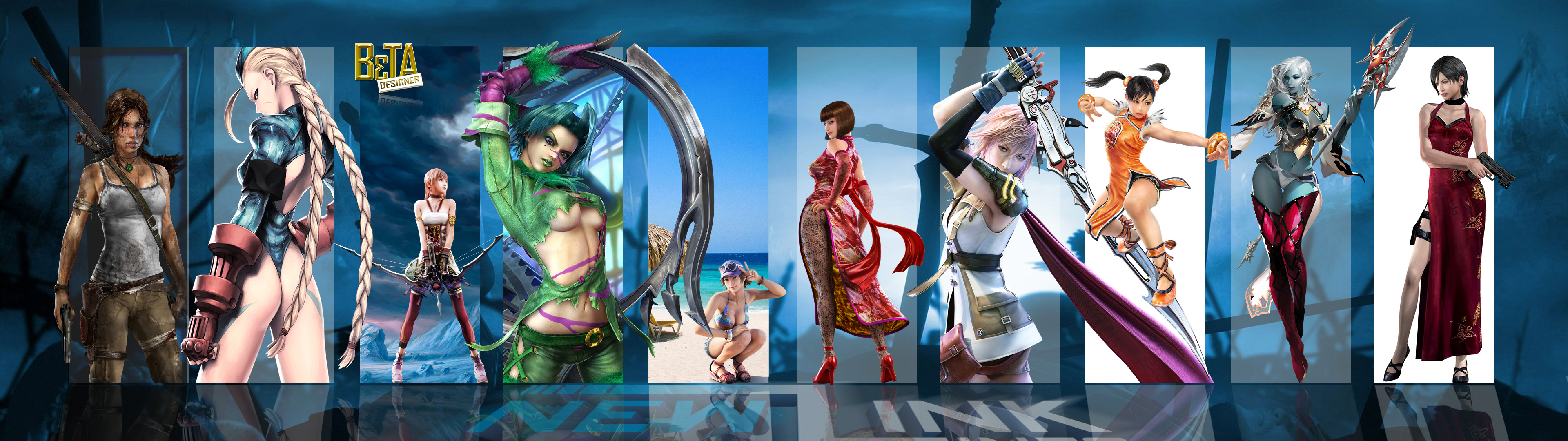 Best Games O1   Wallpaper Dual Monitor FULL HD by NewLinkGAMESDF on 3840x1080
