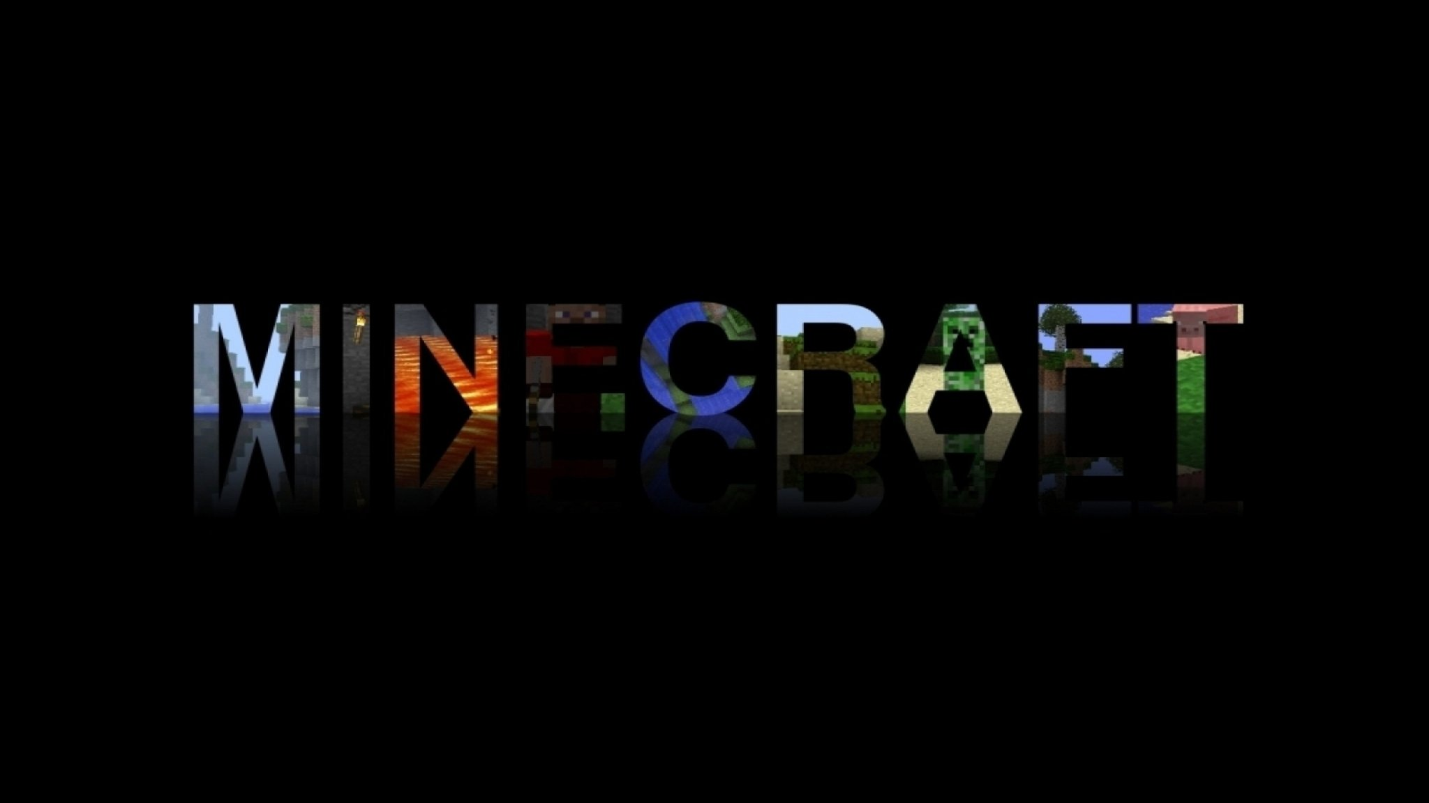 games typography minecraft 2048x1152 HD Wallpapers in 2048x1152 2048x1152