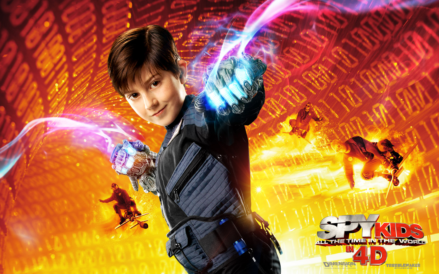 Spy Kids All the Time in the World in 4D Desktop Wallpapers 1680x1050