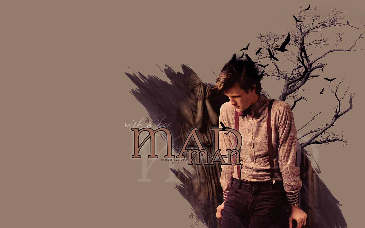 Pin Matt Smith Wallpaper 1440x900 Doctor Who 1440x900