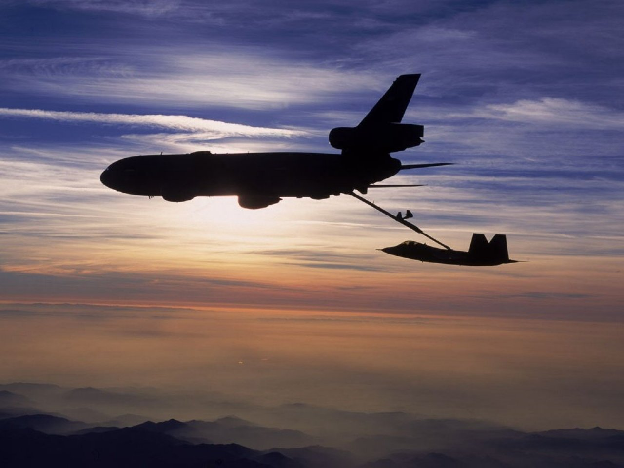US Air Force and military aviation computer desktop wallpaper 1280x960
