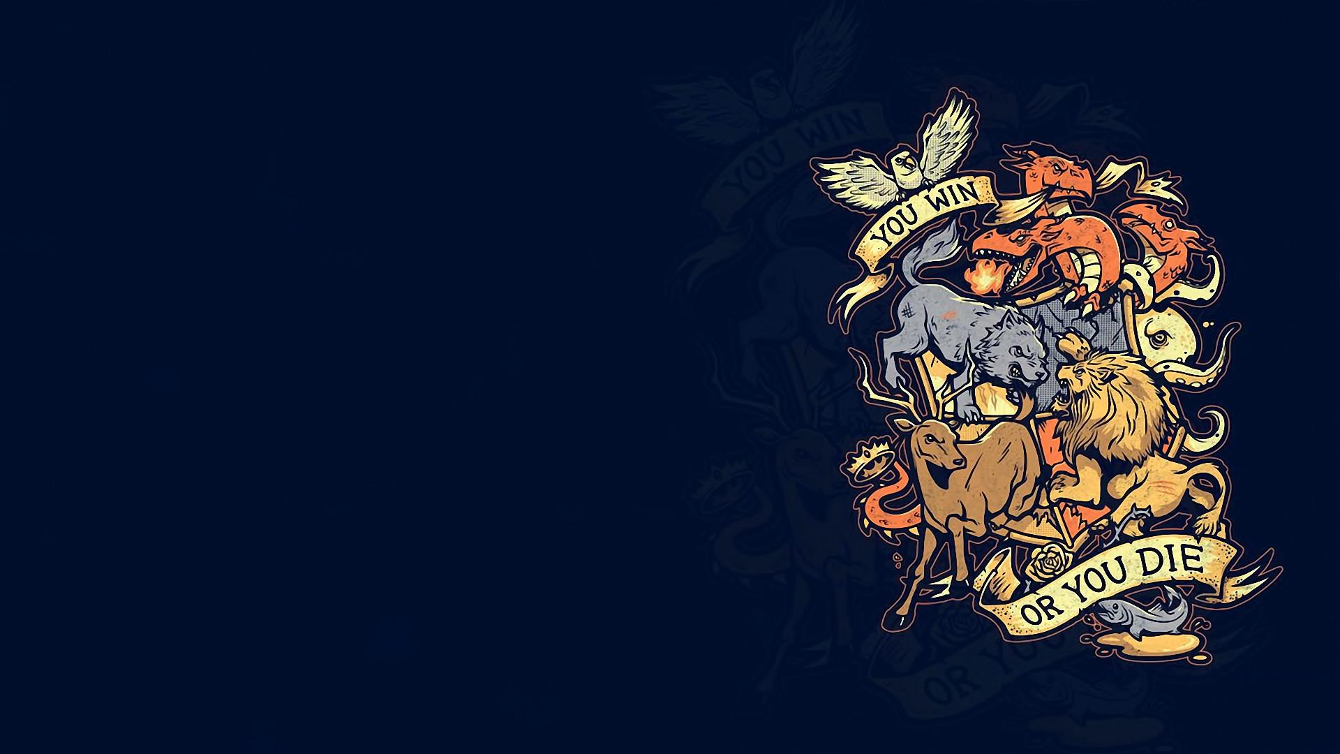 Game of Thrones fantasy crest g wallpaper background 1920x1080
