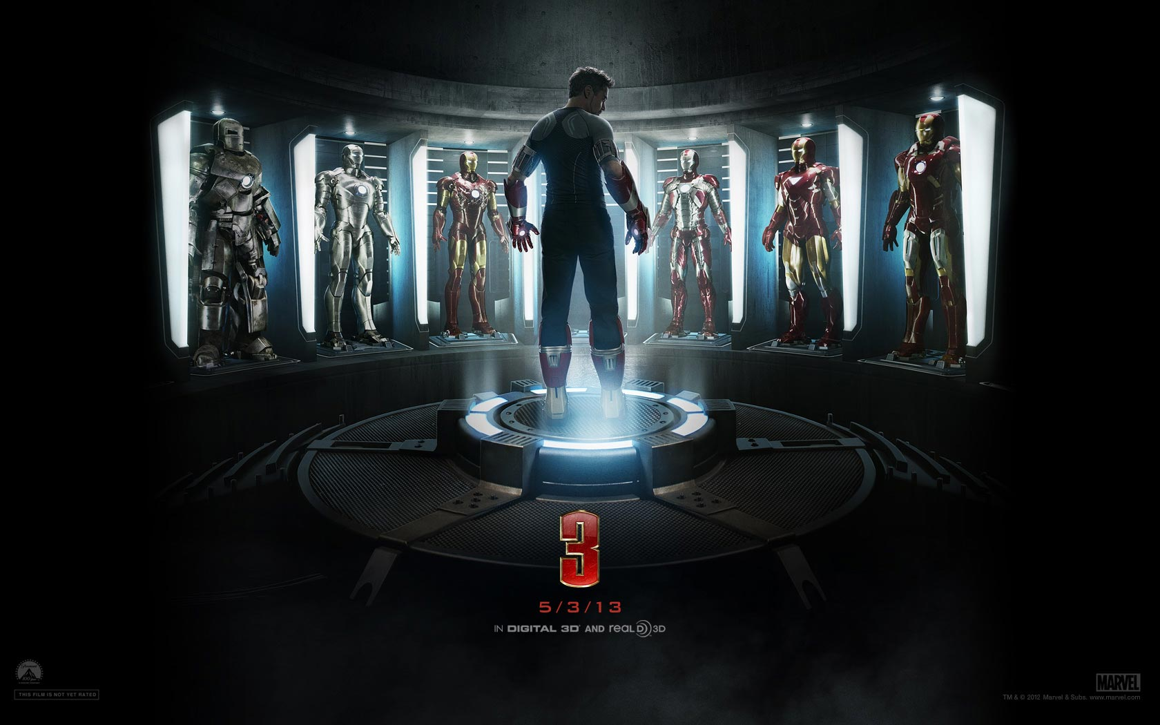 Iron Man 3 Wallpaper   Iron Man 3 Wallpaper 33506138 1680x1050