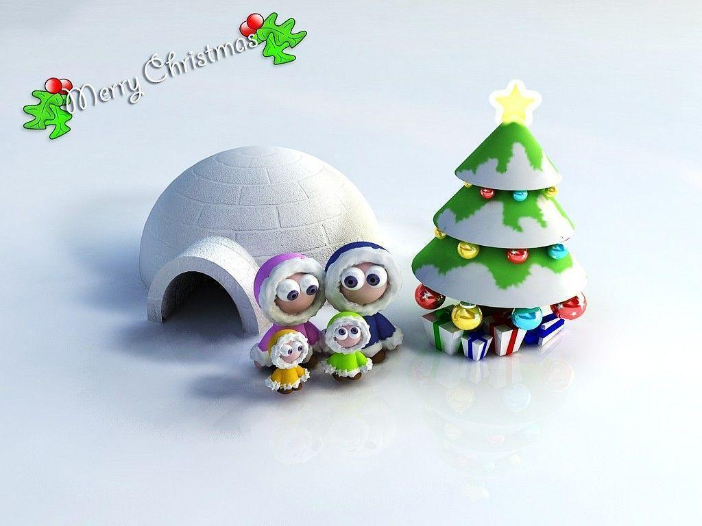 Cute Christmas Desktop Backgrounds 1024x768