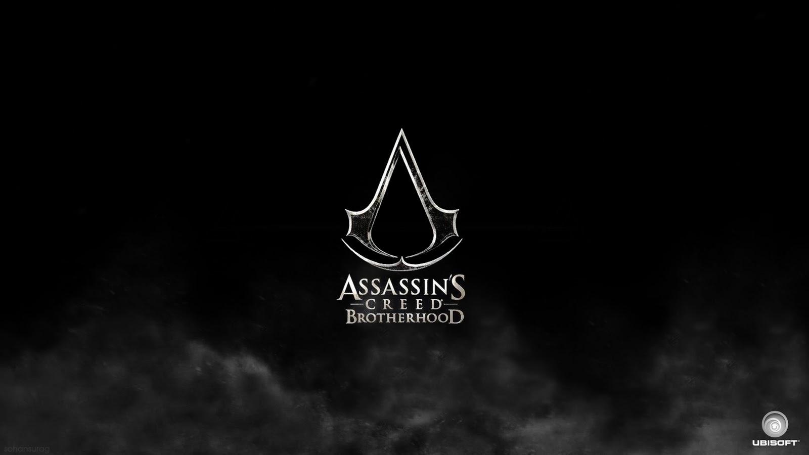 Assassins Creed Logo HD Wallpaper 1600x900