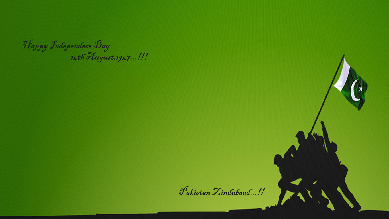 Download 14 August Independence Day Pakistan HD Wallpaper Search more 1366x768