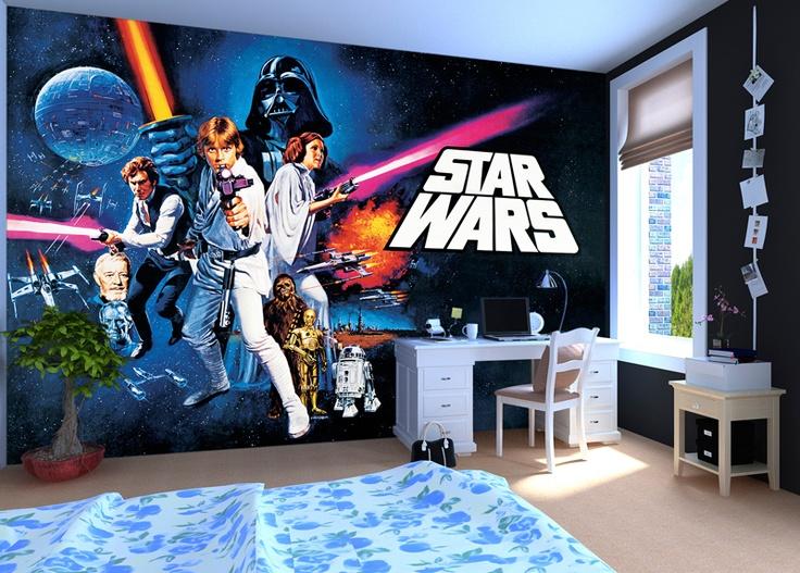 49 Star Wars Room Wallpaper On Wallpapersafari