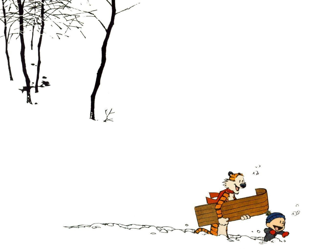 Calvin And Hobbes Wallpapers 1280x1024
