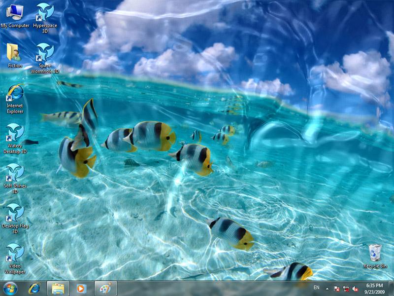 User reviews of Animated Wallpaper Watery Desktop 3D 399 800x600
