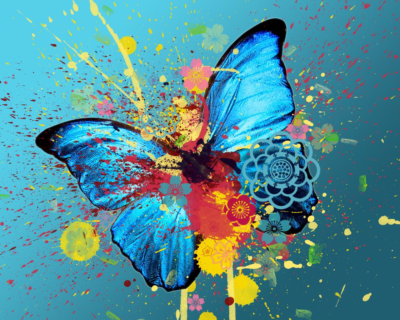 Butterfly Wallpaper HD Wallpupcom 1280x1024