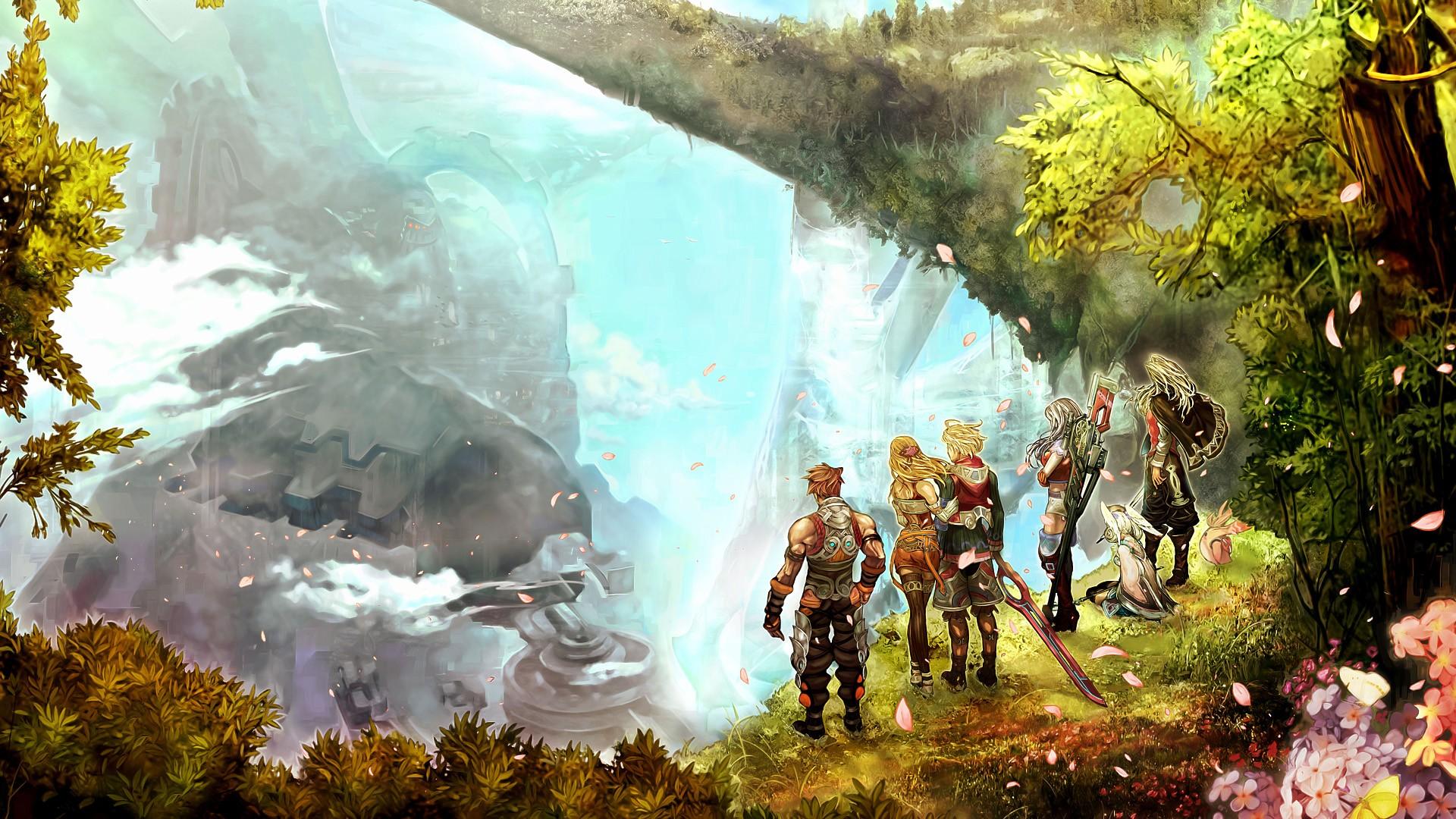 Wallpaper 1 Wallpaper from Xenoblade Chronicles gamepressurecom 1920x1080