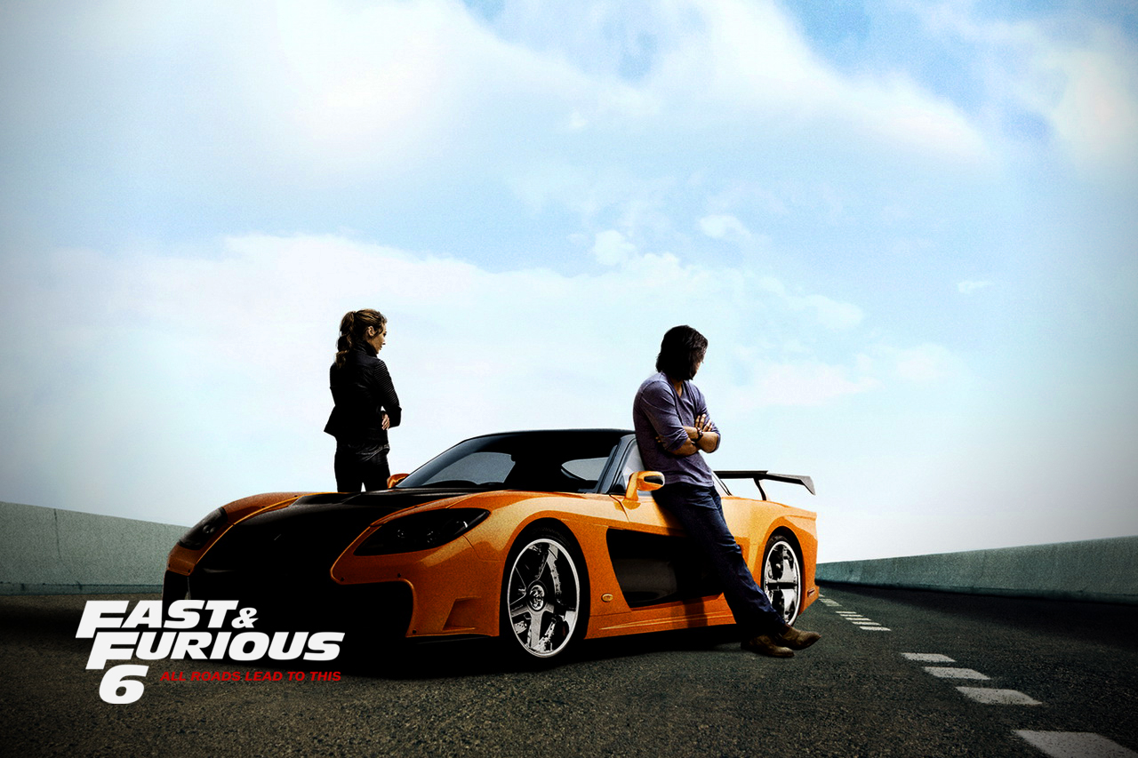 Fast And Furious 6 Desktop Wallpaper Hd Wallpapers Records 1280x853